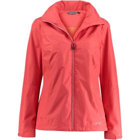 Meru Arta Waterproof 2 Layer Jacket Women Cayenne